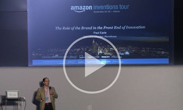 Paul Earle speaking at Amazon conference